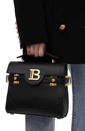 Женская сумка buzz 23 BALMAIN черного цвета, арт. WN1DB526/LVPT | Фото 2