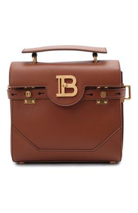 Женская сумка buzz 23 BALMAIN коричневого цвета, арт. WN1DB526/LVPT | Фото 1