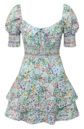 Женское хлопковое платье ALICE + OLIVIA разноцветного цвета, арт. CC104P16506   Фото 1
