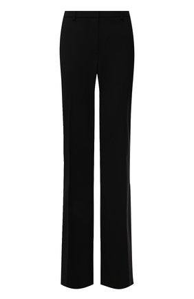 Женские шерстяные брюки THEORY черного цвета, арт. I0001201 | Фото 1