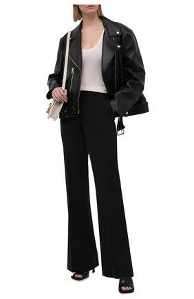 Женские шерстяные брюки THEORY черного цвета, арт. I0001201 | Фото 2