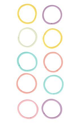Детская комплект из 10-ти резинок JUNEFEE разноцветного цвета, арт. 4190 | Фото 1