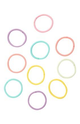 Детская комплект из 10-ти резинок JUNEFEE разноцветного цвета, арт. 4190 | Фото 2