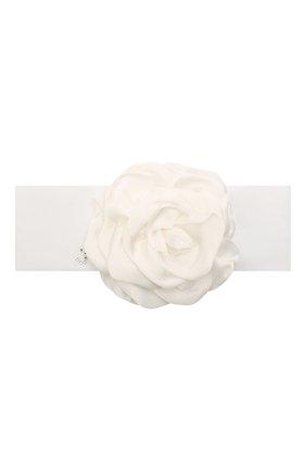 Детская повязка JUNEFEE белого цвета, арт. 6008 | Фото 1