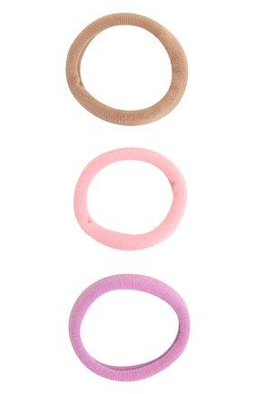 Детская комплект из трех резинок JUNEFEE розового цвета, арт. 6496 | Фото 1