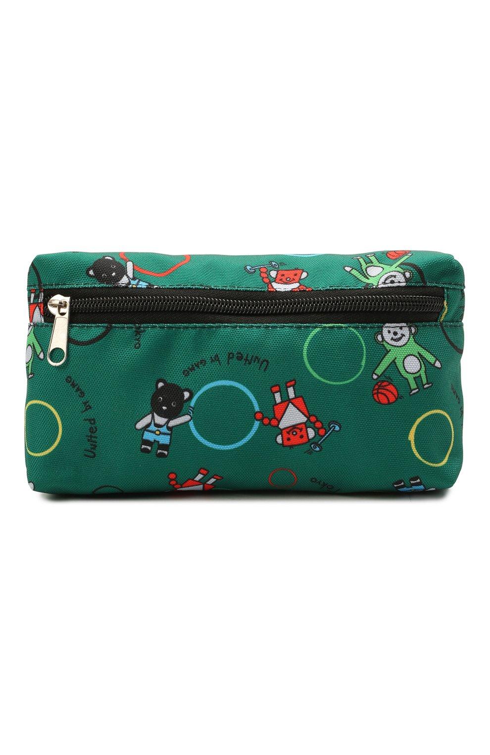 Детская поясная сумка MUMOFSIX зеленого цвета, арт. MOSSS21_BB | Фото 1
