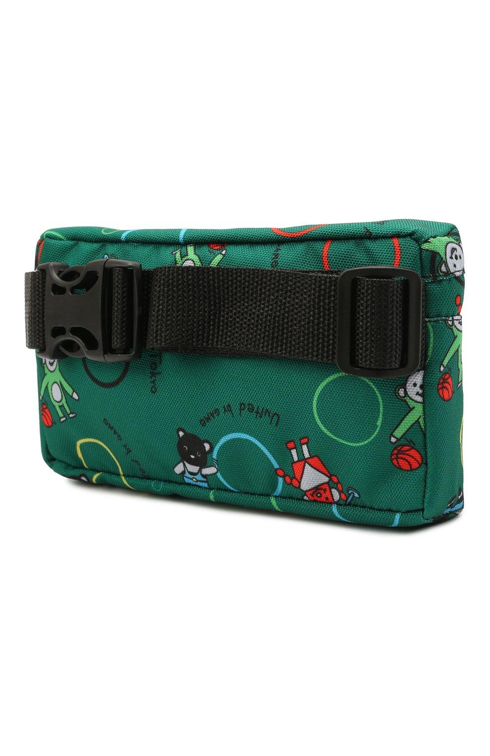 Детская поясная сумка MUMOFSIX зеленого цвета, арт. MOSSS21_BB | Фото 2
