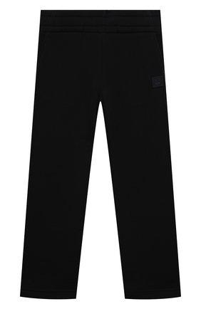 Детские хлопковые брюки ACNE STUDIOS черного цвета, арт. DK0005   Фото 1