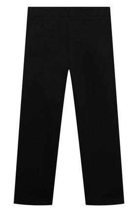 Детские хлопковые брюки ACNE STUDIOS черного цвета, арт. DK0005   Фото 2