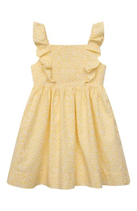 Детское хлопковый сарафан POLO RALPH LAUREN желтого цвета, арт. 311835363 | Фото 2