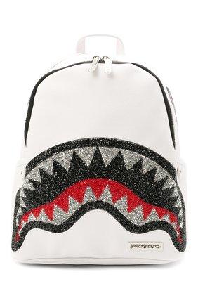 Детская рюкзак SPRAYGROUND белого цвета, арт. 910B3663NSZ   Фото 1