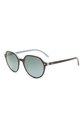 Женские солнцезащитные очки RAY-BAN коричневого цвета, арт. 2195-13163M | Фото 1