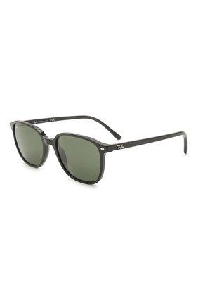 Женские солнцезащитные очки RAY-BAN черного цвета, арт. 2193-901/31 | Фото 1