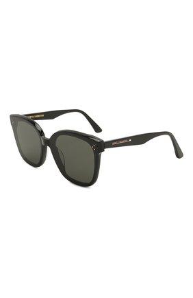 Женские солнцезащитные очки GENTLE MONSTER черного цвета, арт. RICK 01 | Фото 1