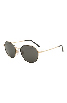 Женские солнцезащитные очки DOLCE & GABBANA черного цвета, арт. 2271-131187 | Фото 1 (Тип очков: С/з; Очки форма: Круглые; Оптика Гендер: оптика-унисекс)
