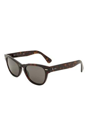 Женские солнцезащитные очки RAY-BAN коричневого цвета, арт. 2201-902/B1 | Фото 1