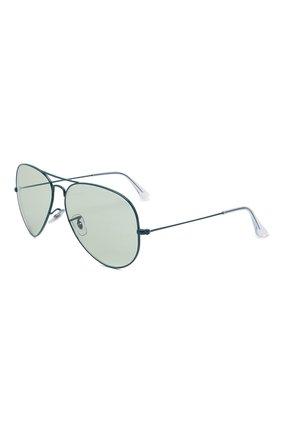 Женские солнцезащитные очки RAY-BAN бирюзового цвета, арт. 3025-9225T1 | Фото 1