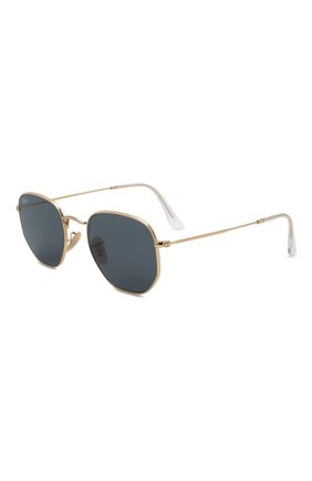 Женские солнцезащитные очки RAY-BAN золотого цвета, арт. 3548N-001/R5 | Фото 1