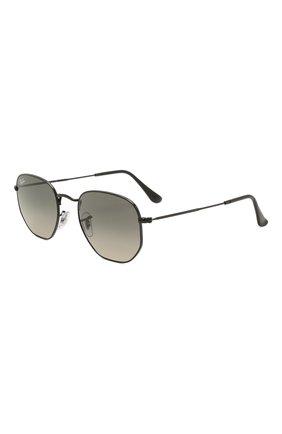 Женские солнцезащитные очки RAY-BAN черного цвета, арт. 3548-002/71 | Фото 1