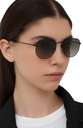 Женские солнцезащитные очки RAY-BAN черного цвета, арт. 3548-002/71 | Фото 2