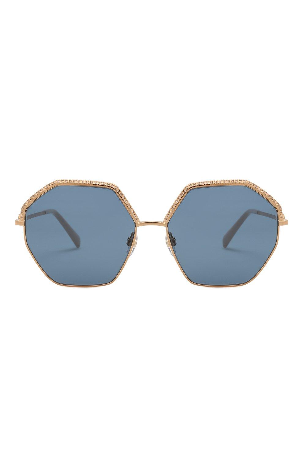 Женские солнцезащитные очки VALENTINO золотого цвета, арт. 2044-300480   Фото 3