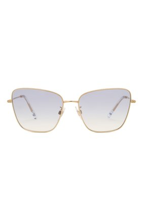 Женские солнцезащитные очки DOLCE & GABBANA светло-сиреневого цвета, арт. 2275-02/79 | Фото 3