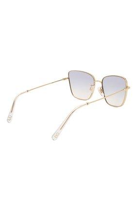 Женские солнцезащитные очки DOLCE & GABBANA светло-сиреневого цвета, арт. 2275-02/79 | Фото 4