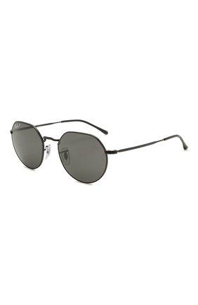 Женские солнцезащитные очки RAY-BAN черного цвета, арт. 3565-002/48 | Фото 1