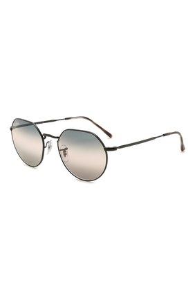 Женские солнцезащитные очки RAY-BAN черного цвета, арт. 3565-002/GE | Фото 1