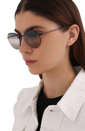 Женские солнцезащитные очки RAY-BAN черного цвета, арт. 3565-002/GE | Фото 2