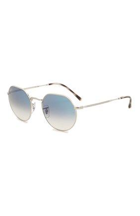 Женские солнцезащитные очки RAY-BAN голубого цвета, арт. 3565-003/3F | Фото 1