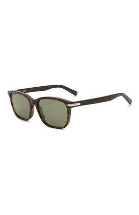 Мужские солнцезащитные очки DIOR коричневого цвета, арт. DI0RBLACKSUIT SI 20C0   Фото 1 (Тип очков: С/з; Оптика Гендер: оптика-мужское)