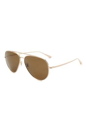 Женские солнцезащитные очки OLIVER PEOPLES коричневого цвета, арт. 1277ST-529257 | Фото 1