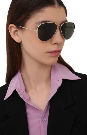 Женские солнцезащитные очки OLIVER PEOPLES черного цвета, арт. 1277ST-5292P1 | Фото 2