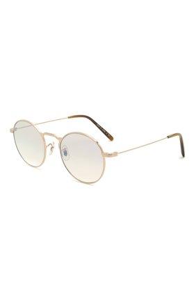 Женские солнцезащитные очки OLIVER PEOPLES золотого цвета, арт. 1282ST-529232 | Фото 1