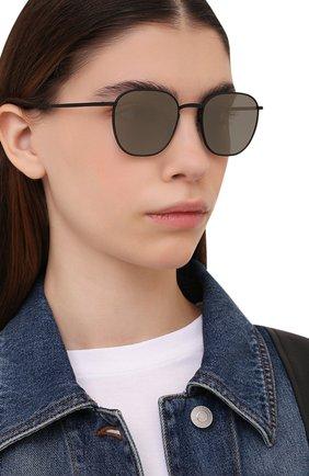 Женские солнцезащитные очки OLIVER PEOPLES черного цвета, арт. 1230ST-501739 | Фото 2