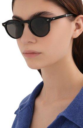Женские солнцезащитные очки OLIVER PEOPLES черного цвета, арт. 5456SU-1005P1 | Фото 2