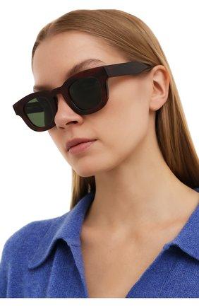 Женские солнцезащитные очки THIERRY LASRY бордового цвета, арт. DARKSIDY 127   Фото 2
