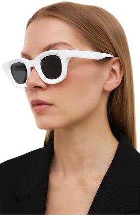 Женские солнцезащитные очки THIERRY LASRY белого цвета, арт. RH0DE0 000   Фото 2