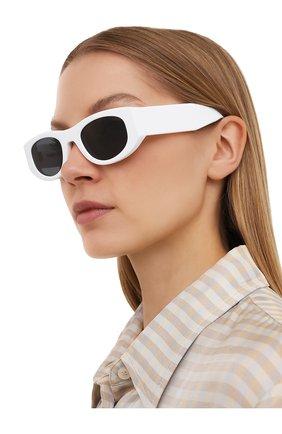Женские солнцезащитные очки THIERRY LASRY белого цвета, арт. MASTERMINDY 000   Фото 2
