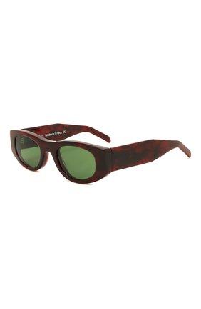 Женские солнцезащитные очки THIERRY LASRY бордового цвета, арт. MASTERMINDY 127   Фото 1