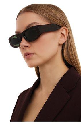Женские солнцезащитные очки THIERRY LASRY бордового цвета, арт. MASTERMINDY 127   Фото 2