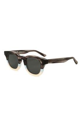 Женские солнцезащитные очки THIERRY LASRY темно-серого цвета, арт. GALAXY 004   Фото 1