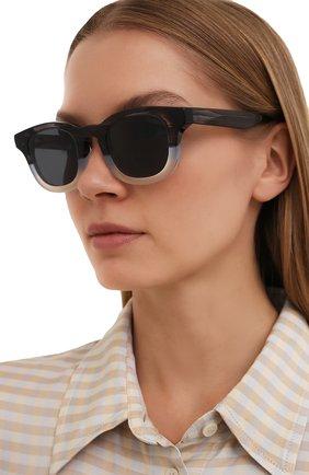 Женские солнцезащитные очки THIERRY LASRY темно-серого цвета, арт. GALAXY 004   Фото 2