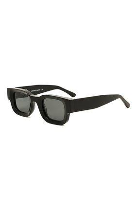 Женские солнцезащитные очки THIERRY LASRY черного цвета, арт. RHEVISI0N 101 DARKGREY   Фото 1