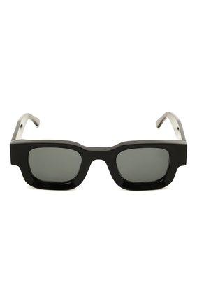 Женские солнцезащитные очки THIERRY LASRY черного цвета, арт. RHEVISI0N 101 DARKGREY   Фото 2