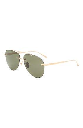 Мужские солнцезащитные очки CHOPARD темно-зеленого цвета, арт. F20 300Z | Фото 1