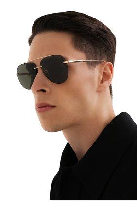 Мужские солнцезащитные очки CHOPARD темно-зеленого цвета, арт. F20 300Z | Фото 2