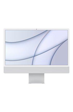 "imac 24"" m1 (8c cpu, 8c gpu), 256gb silver APPLE  silver цвета, арт. MGPC3RU/A | Фото 1 (Память: 256GB)"