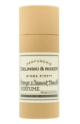 Духи концентрированные orange & jasmine, vanilla ZIELINSKI&ROZEN бесцветного цвета, арт. 4603720459040 | Фото 2